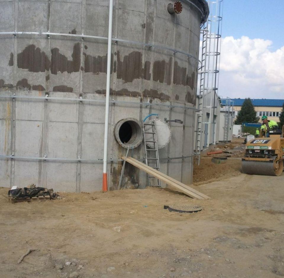 Pécs, Biogázüzem - UDVARTÉRI gázvezetékek létesítése
