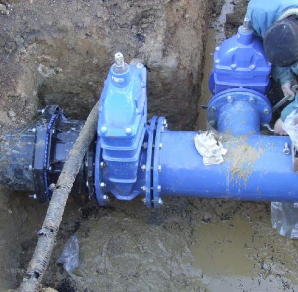 Keszü-Kökény-Gyód-Aranyosgadány-Bicsérd-Zók kisregionális rendszer II. betápláló ivóvízvezeték építése Pécs - Keszü nyomvonalon